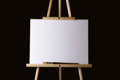 empty canvas